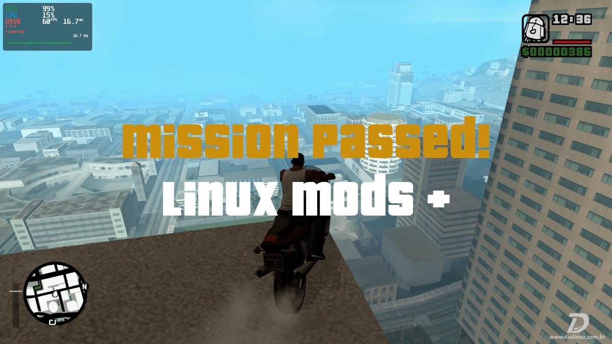 Cara Memasang Mod Di Gta San Andreas Asli Di Linux