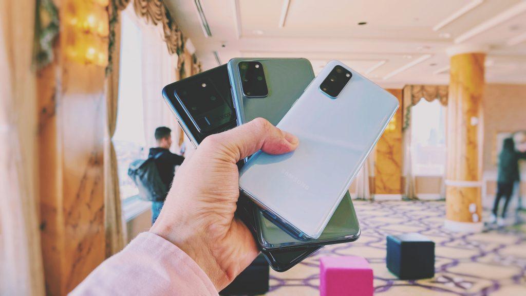 هواتف Samsung Galaxy S20 و S20 + و S20 Ultra