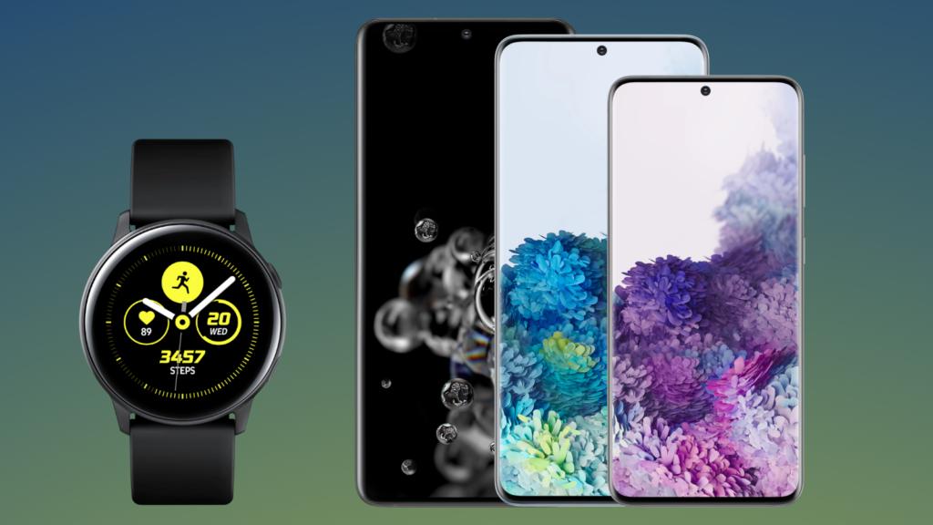 اشترِ Galaxy S20 واحصل على Samsung Galaxy Watch Active 2 مجانًا