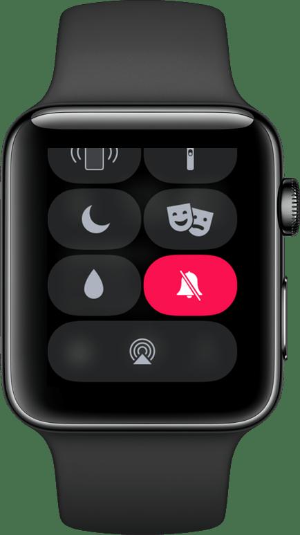 الوضع الهادئ لـ Apple Watch