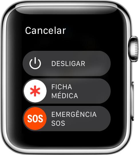 طوارئ SOS - Apple Watch