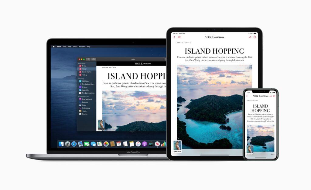 تصل أخبار Apple + إلى أستراليا والمملكة المتحدة من خلال العديد من المنشورات المحلية - MacMagazine.com