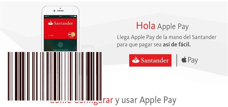 تصل Apple Pay اليوم إلى إسبانيا ، البلد الثالث عشر لتلقي خدمة الدفع عبر الهاتف المحمول