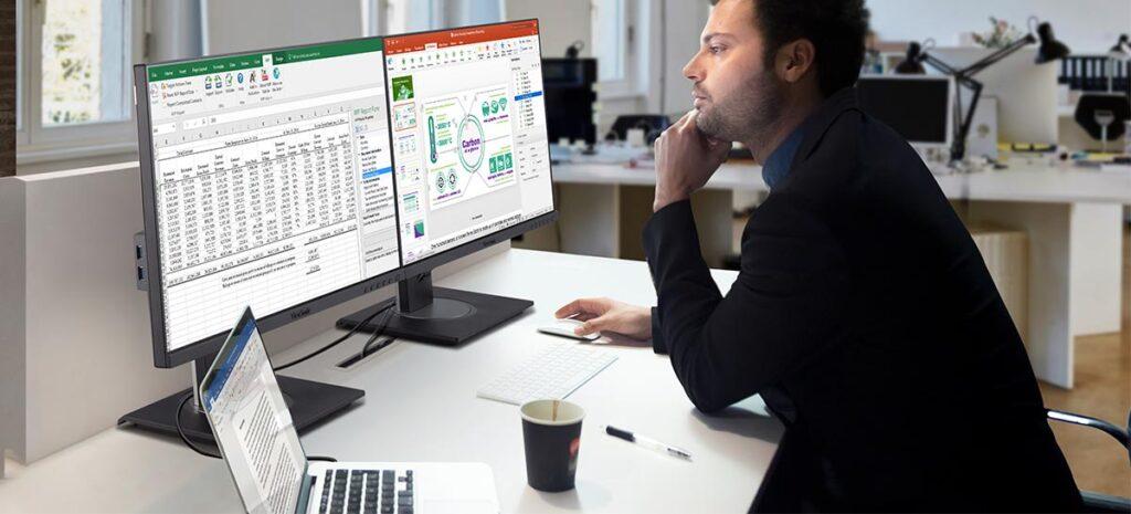 Novos monitores da ViewSonic prometem alto desempenho e versatilidade