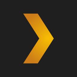 رمز تطبيق Plex: الأفلام والتلفزيون والموسيقى والمزيد