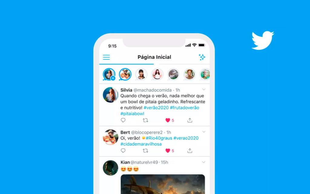 """تويتر تعلن عن """"قصصها"""" في البرازيل ، أساطيل تويتر"""