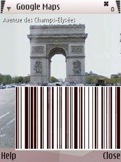 جوجل ستريت فيو على نوكيا S60 وويندوز موبايل