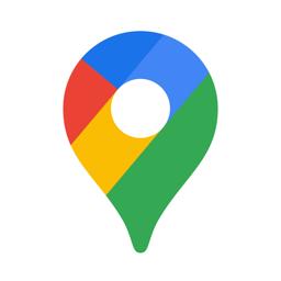 رمز تطبيق خرائط Google - حركة المرور والغذاء
