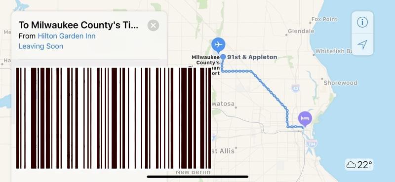 خرائط Apple: تتلقى المزيد من مواقع الولايات المتحدة معلومات النقل العام ؛  تلقت 10 مواقع بالفعل خرائط داخلية في مراكز التسوق
