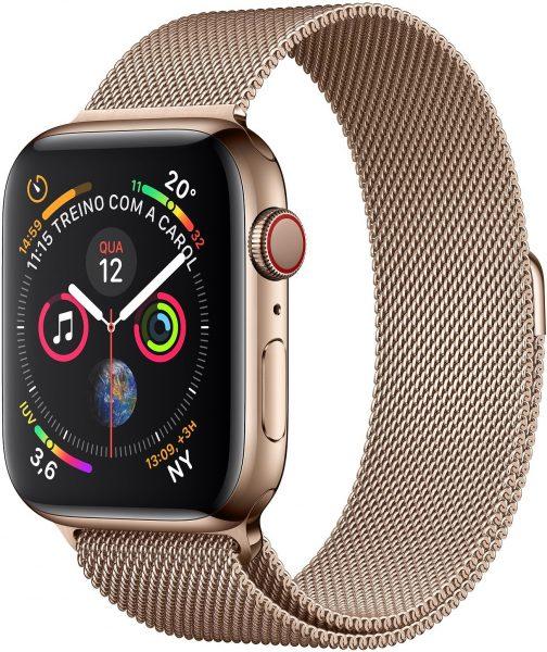 ساعة Apple Watch Series 4 الذهبية