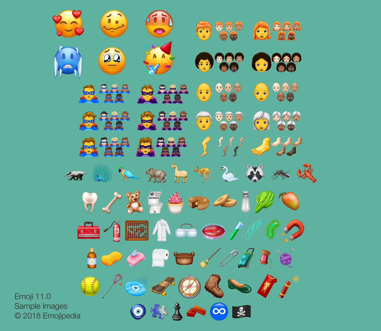 157 رمزًا تعبيريًا إضافيًا