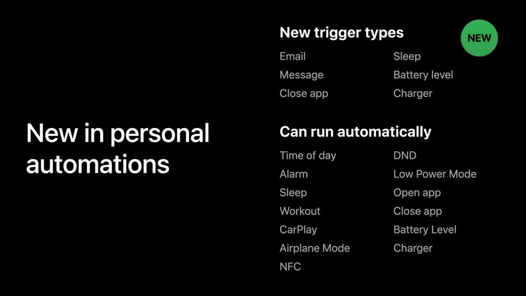 الأتمتة الشخصية الجديدة في iOS 14