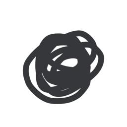 رمز تطبيق Drwer - رسم تصميم بسيط