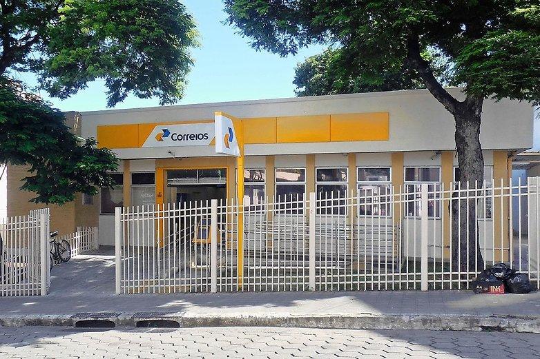 واجهة مكتب بريد ب. Centro Coronel Fabriciano MG2