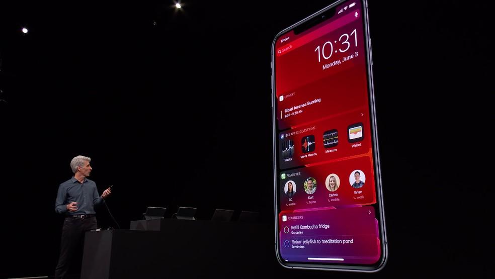 تعلن Apple عن مزيد من الخصوصية على نظام iOS 13 ؛ يمكن للمستخدم تقييد وصول التطبيقات إلى البيانات على الجهاز Photo: Reproduction / Apple