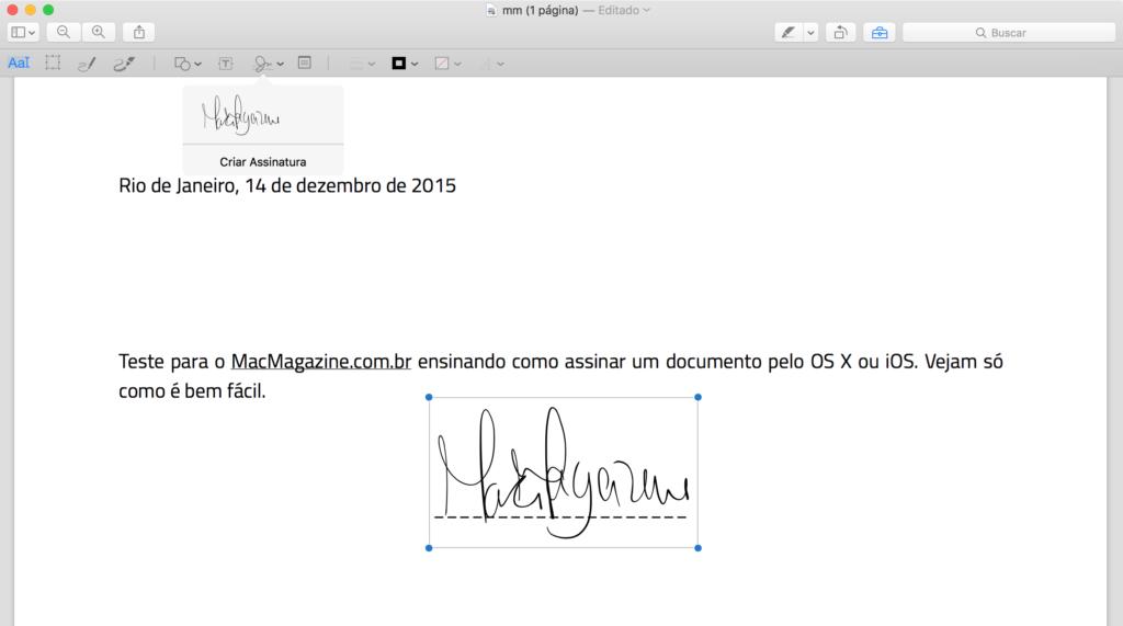 نصيحة: توقيع مستند (PDF) على جهاز Mac أو iPad أو iPhone أو iPod touch