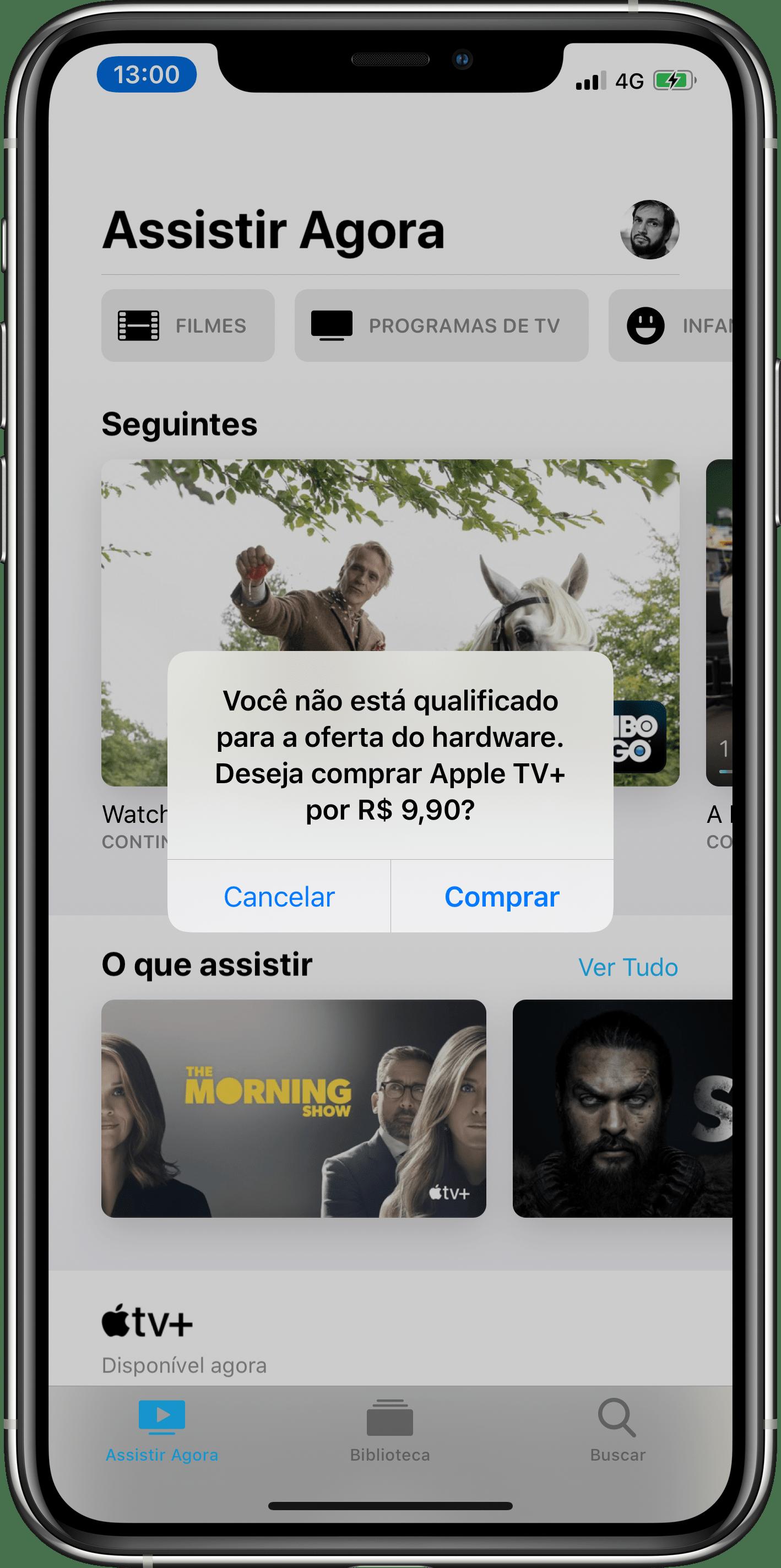 مشاكل في الاشتراك في Apple TV +