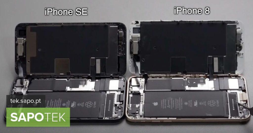 هل يعمل iPhone SE 2020 مع أجزاء من iPhone 8؟ كلاهما أكثر تشابهًا مما تعتقد - المعدات