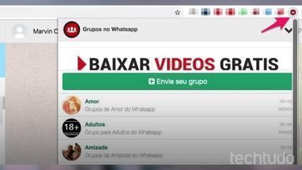 كيفية العثور على مجموعات على WhatsApp مع Chrome plugin