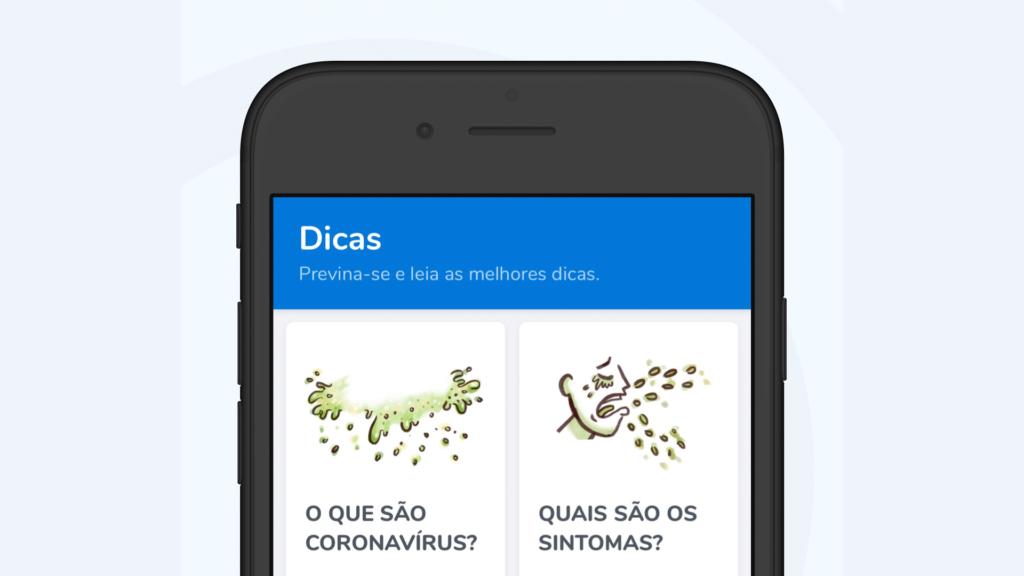 وزارة الصحة تطلق تطبيقًا على فيروس كورونا الجديد (COVID-19) في البرازيل
