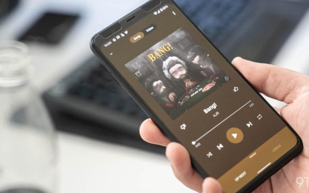 يحصل YouTube Music على تصميم جديد على شاشة التشغيل الخاصة به
