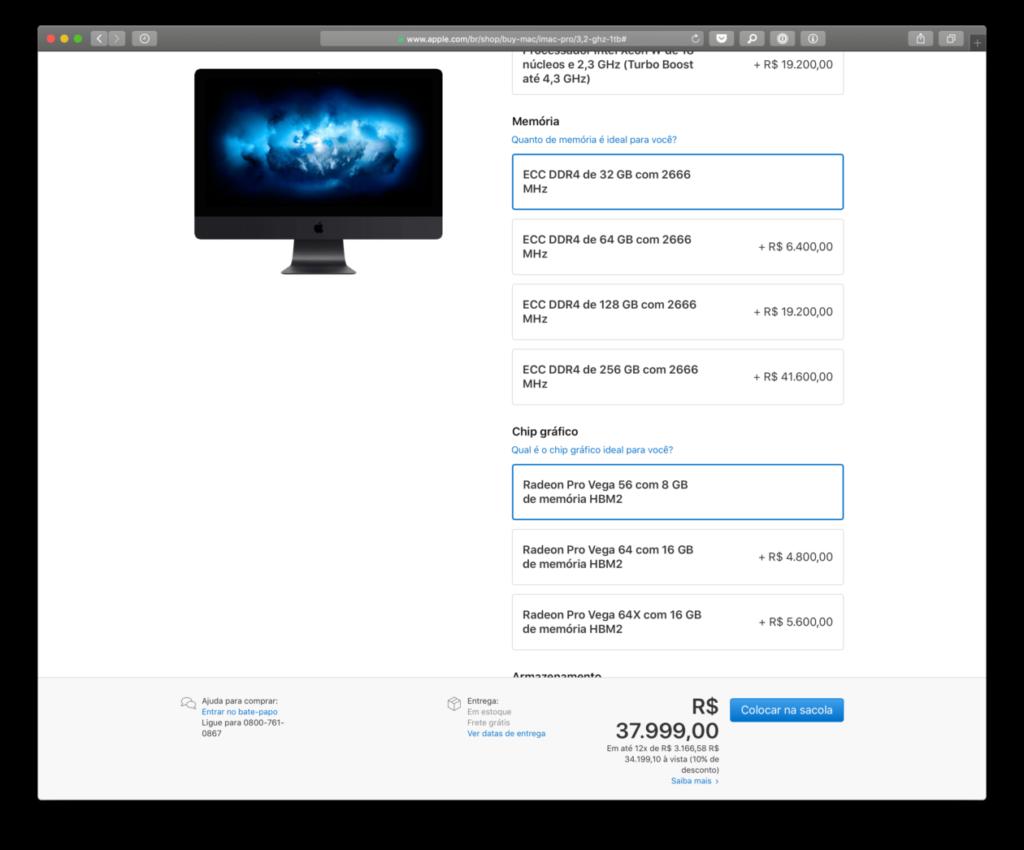 يمكنك الآن إنفاق 41600 دولار R في تكوين iMac Pro الخاص بك مع 256 جيجابايت من ذاكرة الوصول العشوائي - MacMagazine.com