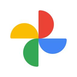 رمز تطبيق صور Google