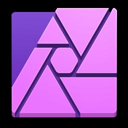 رمز تطبيق Affinity Photo
