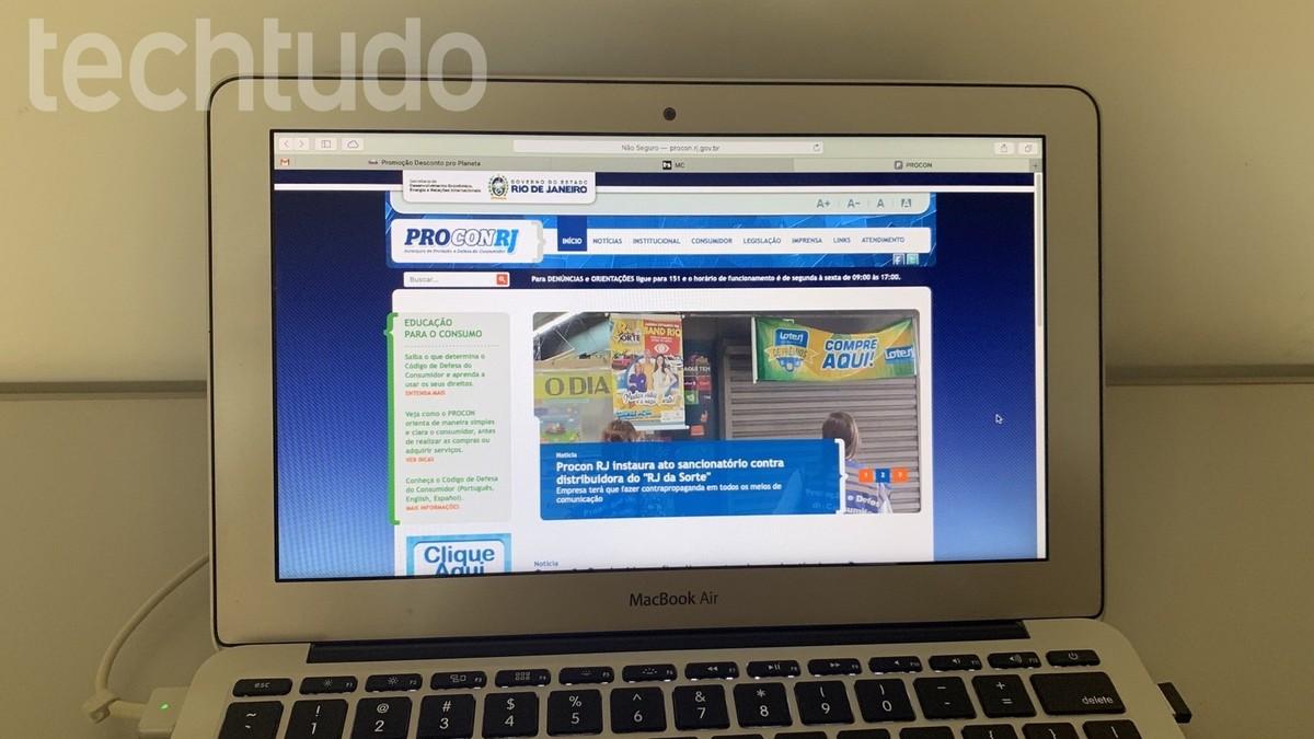 كيفية تقديم شكوى في Procon-RJ عبر الإنترنت
