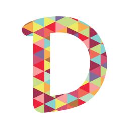Dubsmash - أيقونة تطبيق الفيديو والموسيقى