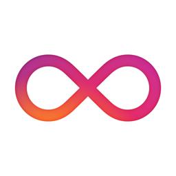Boomerang من أيقونة تطبيق Instagram