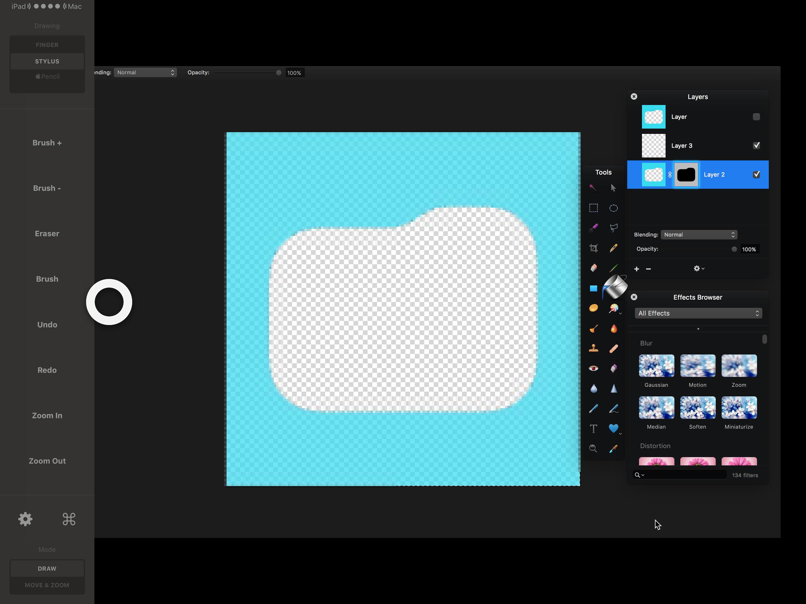Astropad على iPad Pro