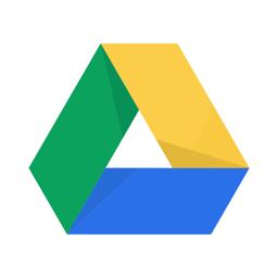رمز تطبيق Google Drive - التخزين