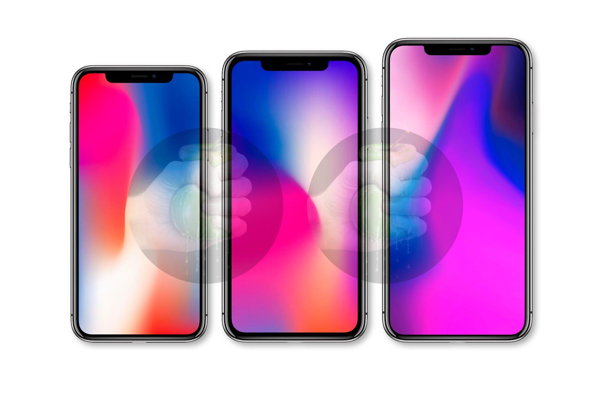 خط أجهزة iPhone المزعوم لعام 2018