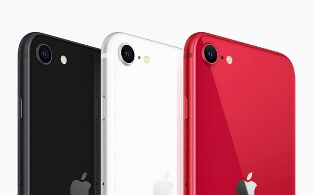 أجهزة iPhone SE الجديدة بثلاثة ألوان مختلفة