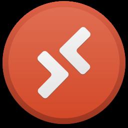 رمز تطبيق Microsoft Remote Desktop