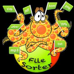 رمز تطبيق File-Sorter: فرز آلاف الملفات وتنظيمها ونسخها بنقرة واحدة