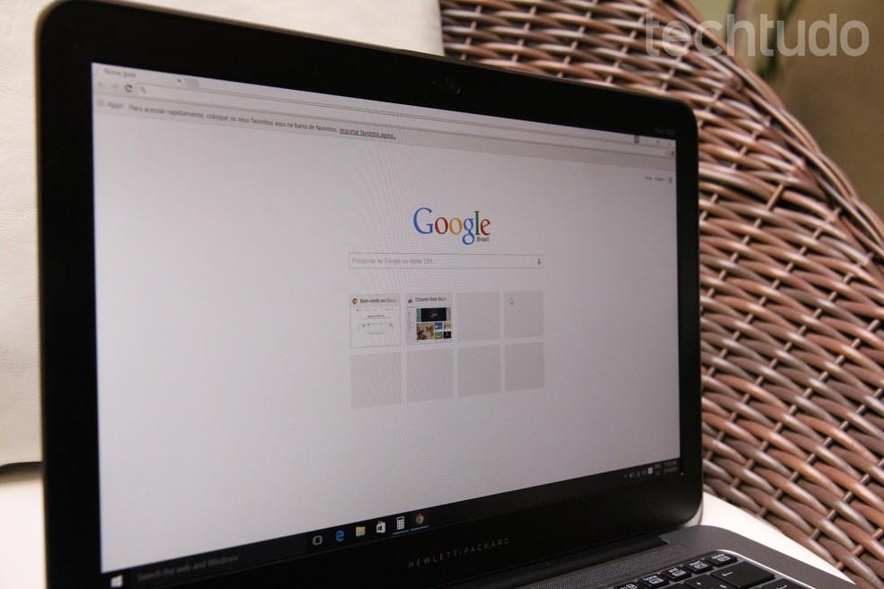 يوضح البرنامج التعليمي كيفية التحقق من الوصول المشبوه على حساب Google الخاص بك Photo: Zngara Lofrano / TechTudo