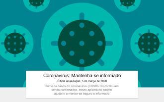 Coronavrus الآن كرست سيو على Google Play