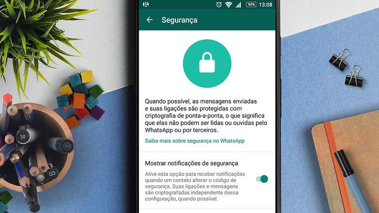 إخطارات الأمن whatsapp الإثنين