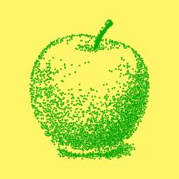 رمز التطبيق Pointillist
