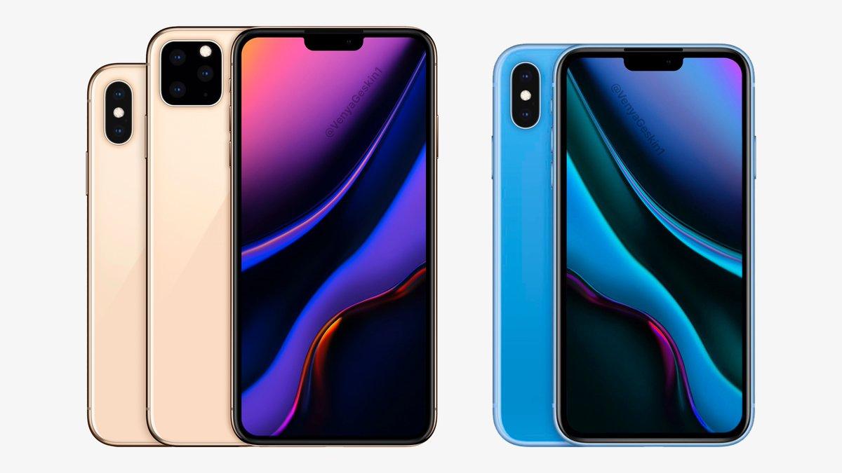 مفهوم خط iPhone لعام 2019