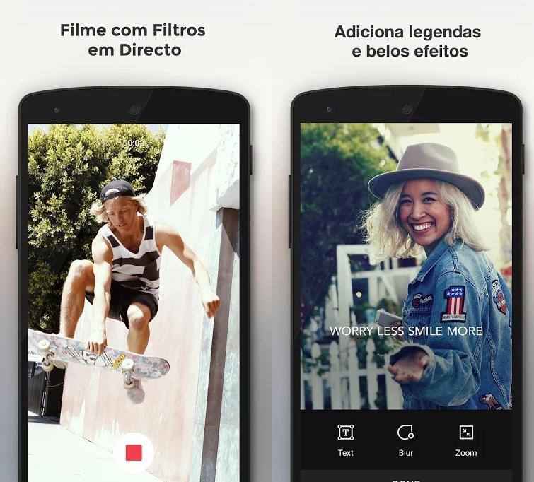 شاشات تظهر التطبيق والصور التوضيحية