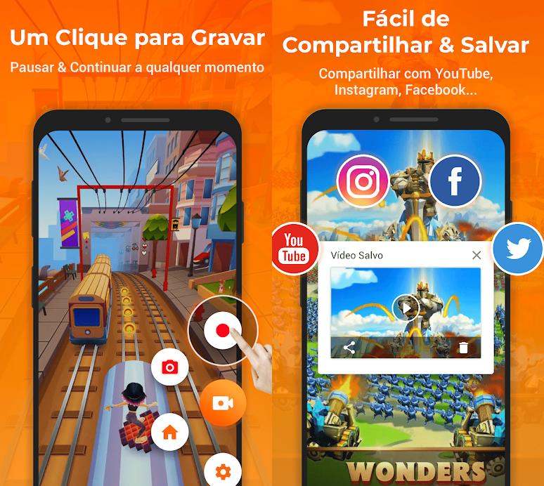 مثال لالتقاط الشاشة أثناء اللعبة ومشاركة الصور عبر الشبكات الاجتماعية.