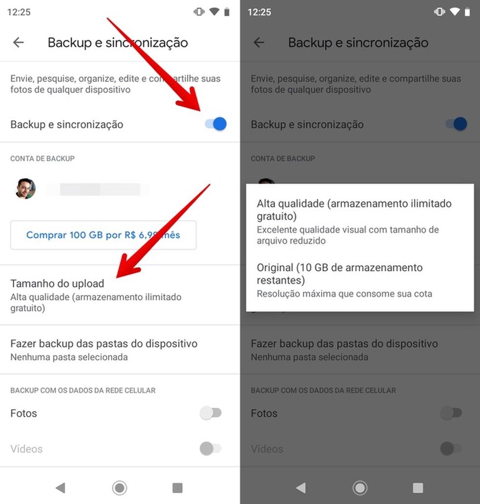 تمكين صور Google Cloud الاحتياطية: Reproduo / Helito Beggiora