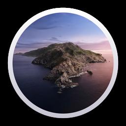 أيقونة تطبيق MacOS Catalina
