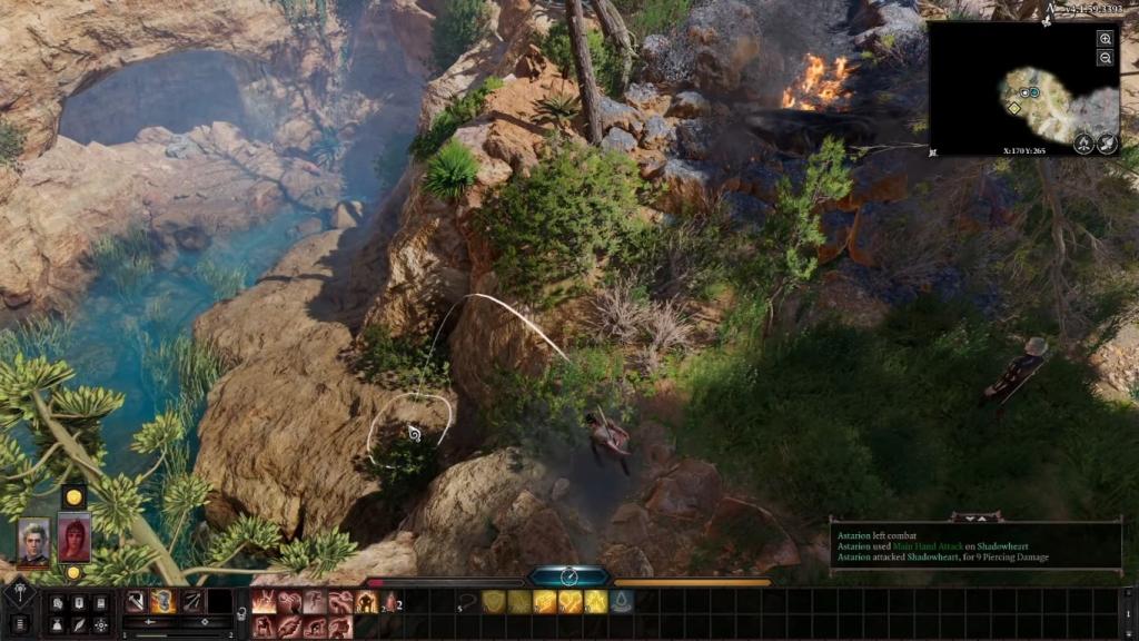 في Baldur's Gate 3 ، من الممكن أن تقفز ، لكن كن حذرًا لأنها قد تكون قاتلة