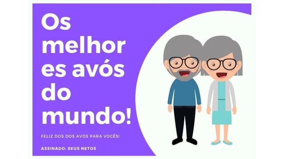 تعرف على كيفية إنشاء بطاقة Avs Day في Canva Photo: Reproduo / Paulo Alves