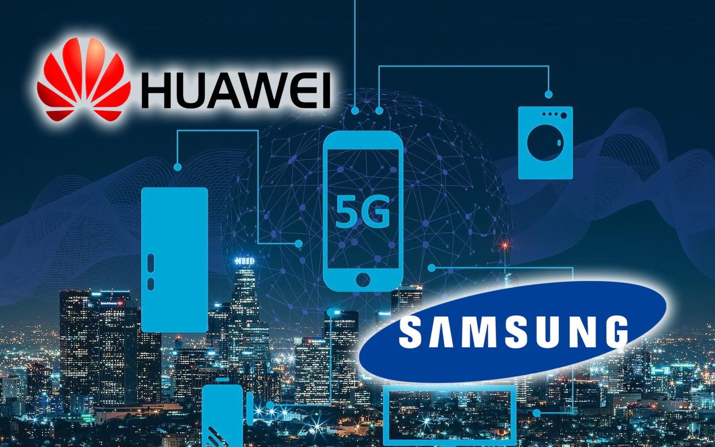 قد تتفوق Huawei على Samsung في السوق للهواتف الذكية 5G المصنعة في جميع أنحاء العالم في عام 2020