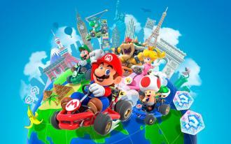 يقدم Mario Kart Tour وضع اللاعبين المتعددين لنظام Android في 8 مارس